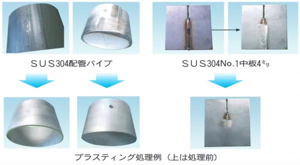 平岡製工社・成和コーポ、新ブラスト機販売開始 ステンレスNo.1材表面肌の回復実現