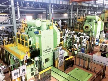 愛知製鋼、新熱間ローリングミルラインを鍛造工場で竣工