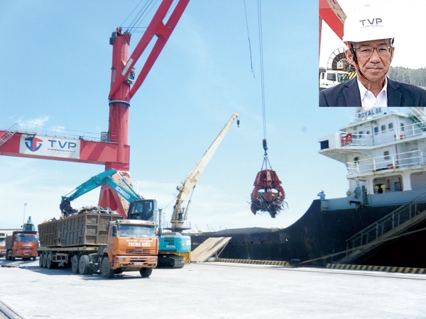共英製鋼・越TVP、港湾事業が本格化