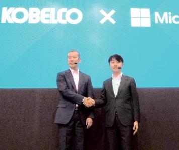 コベルコ建機、現場テレワーク推進 日本マイクロソフトと協業