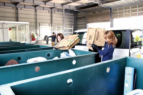 キタニ、専門ヤード開設 ドライブスルー式一般廃棄物受け入れ