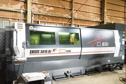 日鐵鋼業、ファイバーレーザ アマダ製新鋭機導入