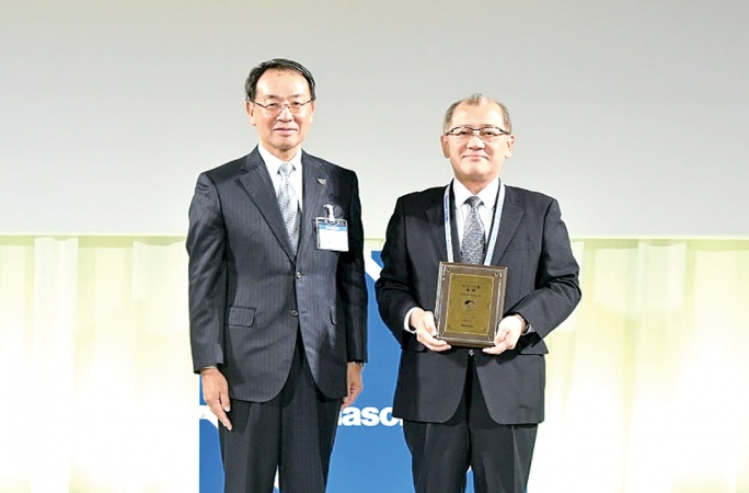 日本製鉄、パナソニックからECO・VC賞の金賞を受賞