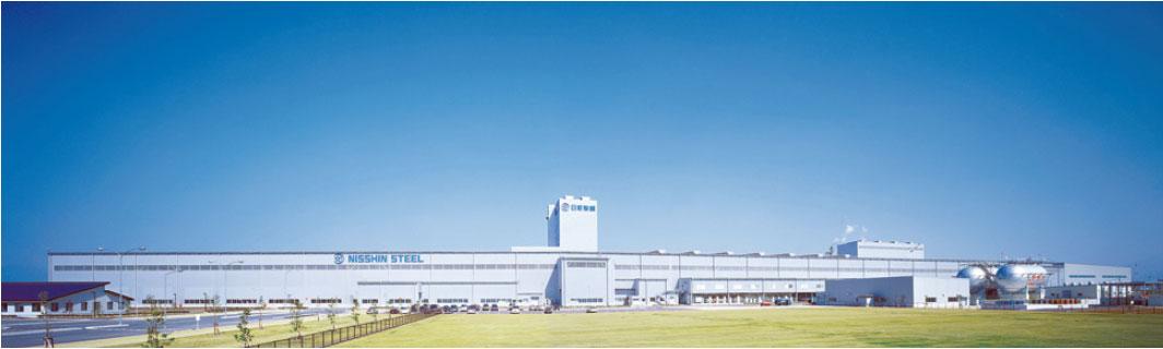 産業新聞アーカイブ 17年11月8日掲載 【工場ルポ】 日新製鋼・東予製造所(上)「ZAM」主力生産拠点/構内輸送を完全無人化