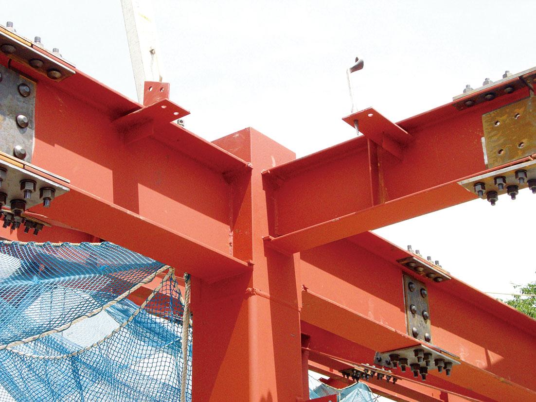 日鉄建材 「NDコア」に400ミリ角 コラムH構造8割対応に