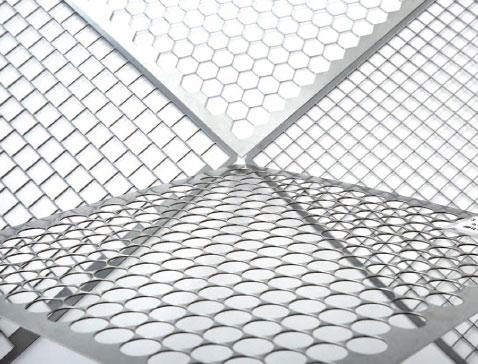 奥谷金網製作所、ステンレス鋼板開孔率80―90%パンチング技術を開発