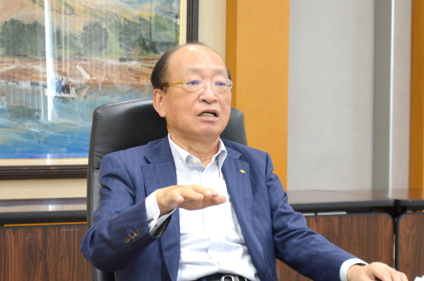 阪和興業の経営戦略-Post Coronaを見据え― 古川弘成社長インタビュー 内外投資成果刈り取る 経常益500億円 長期的ロードマップ描く