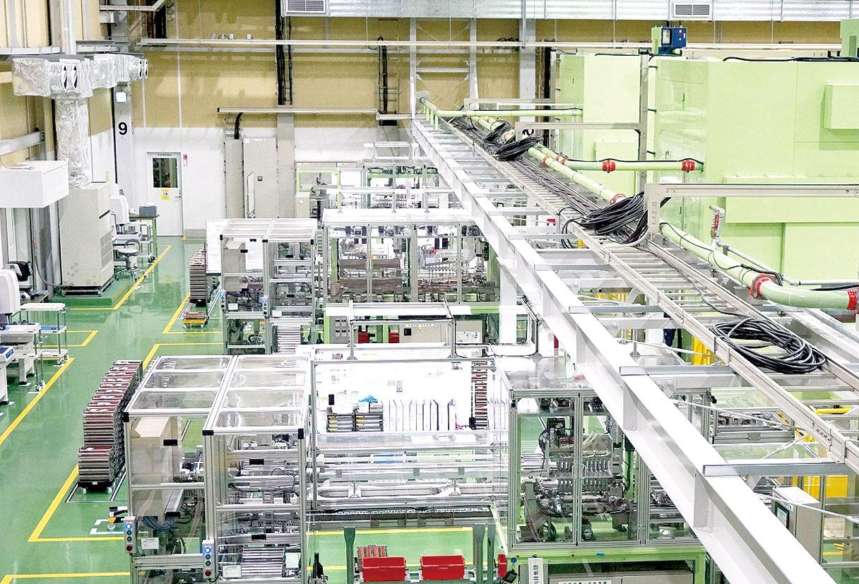 愛知製鋼 岐阜工場、パワーカード用リードフレーム 第2ライン竣工