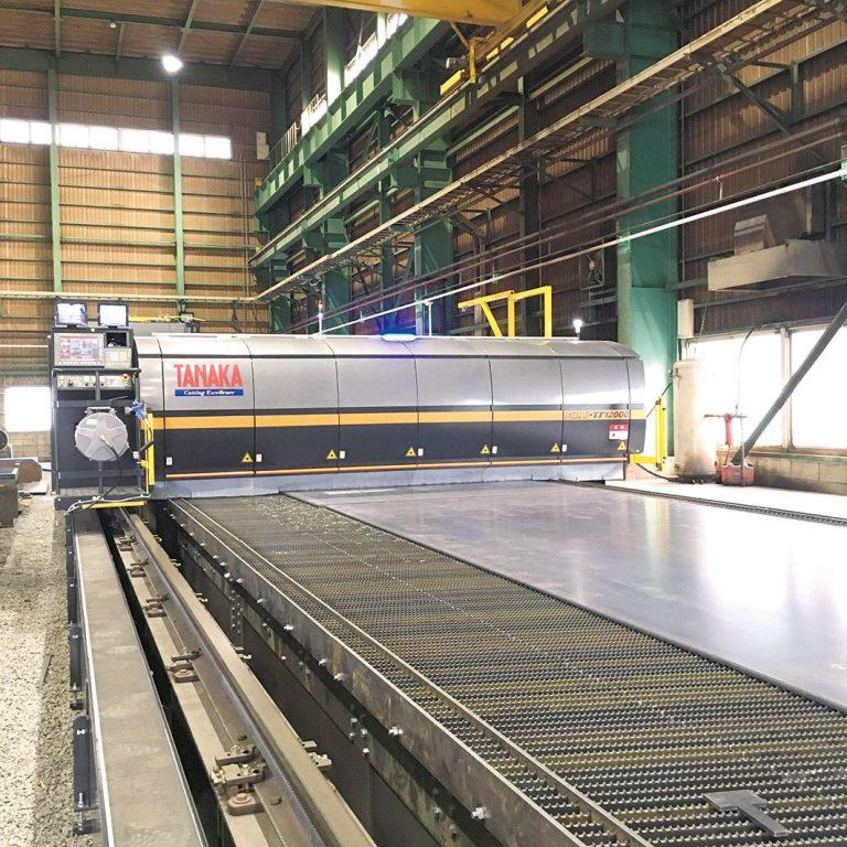 玉造・四国第二工場、ファイバーレーザー導入