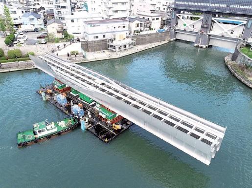 日鉄ステンレス 二相鋼、2橋梁で採用