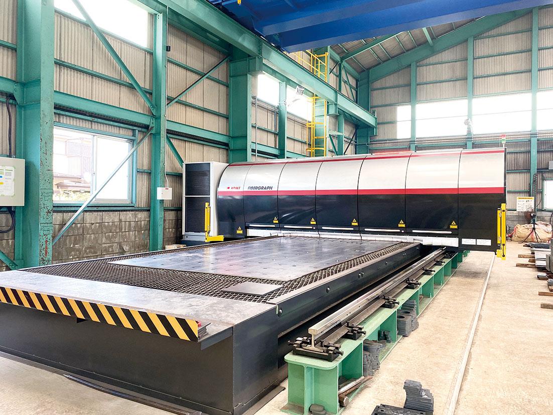 花村産業、千葉でレーザー加工開始SN材拡充 建築向け強化