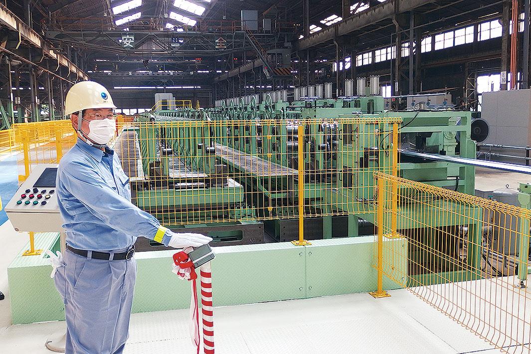 JFE建材、熊谷の8号成形機竣工