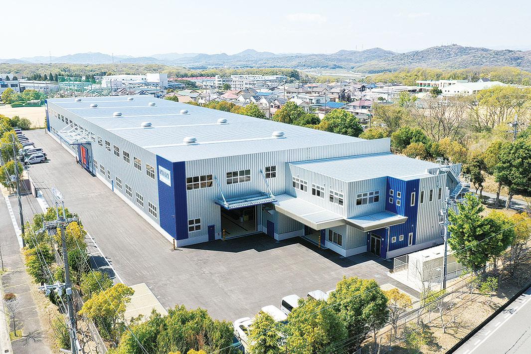 近畿工業、刃物新工場が完成 加工工程自動化を推進