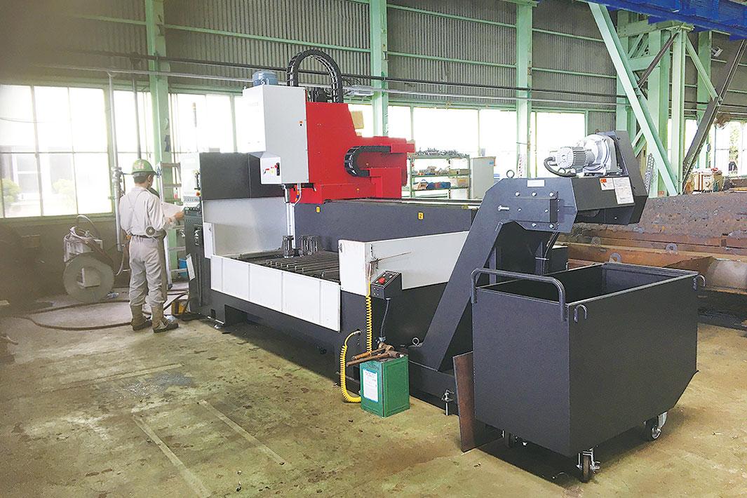 高砂金属工業、鋼板用穴開け機増設