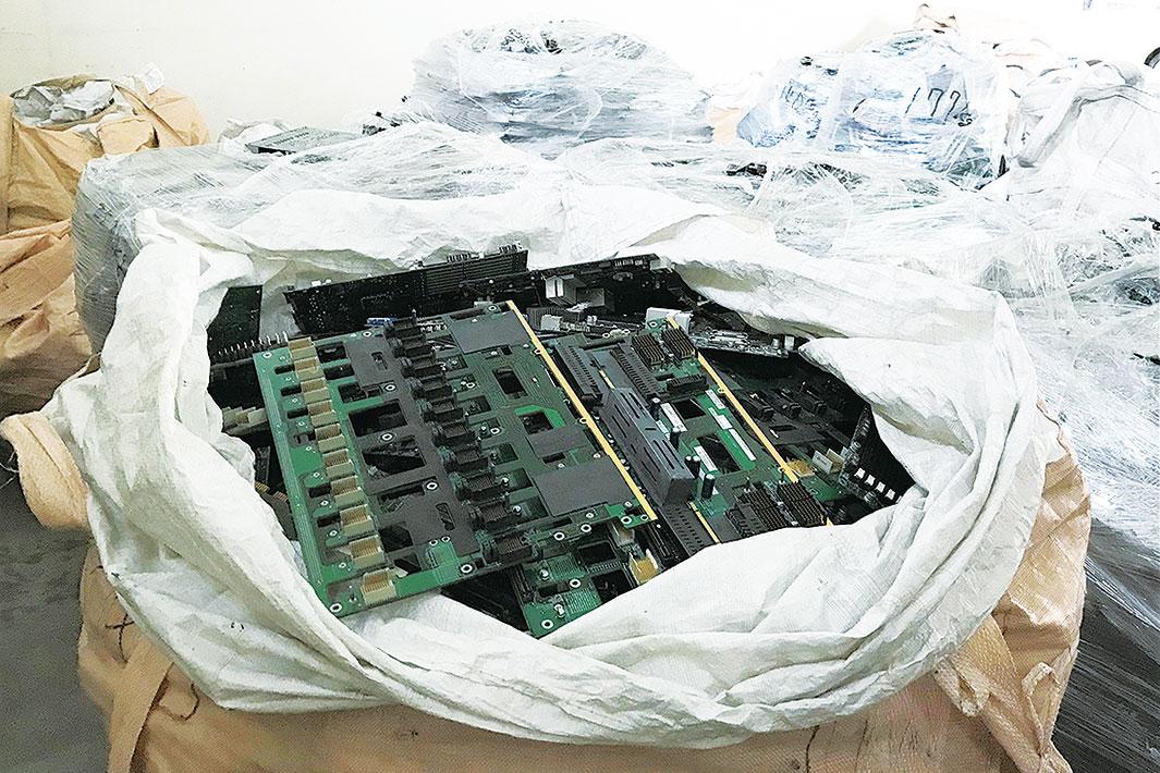 「未来へ 見出す活路 廃電子基板リサイクル」 都市鉱山の活用模索 資源循環国家への道筋