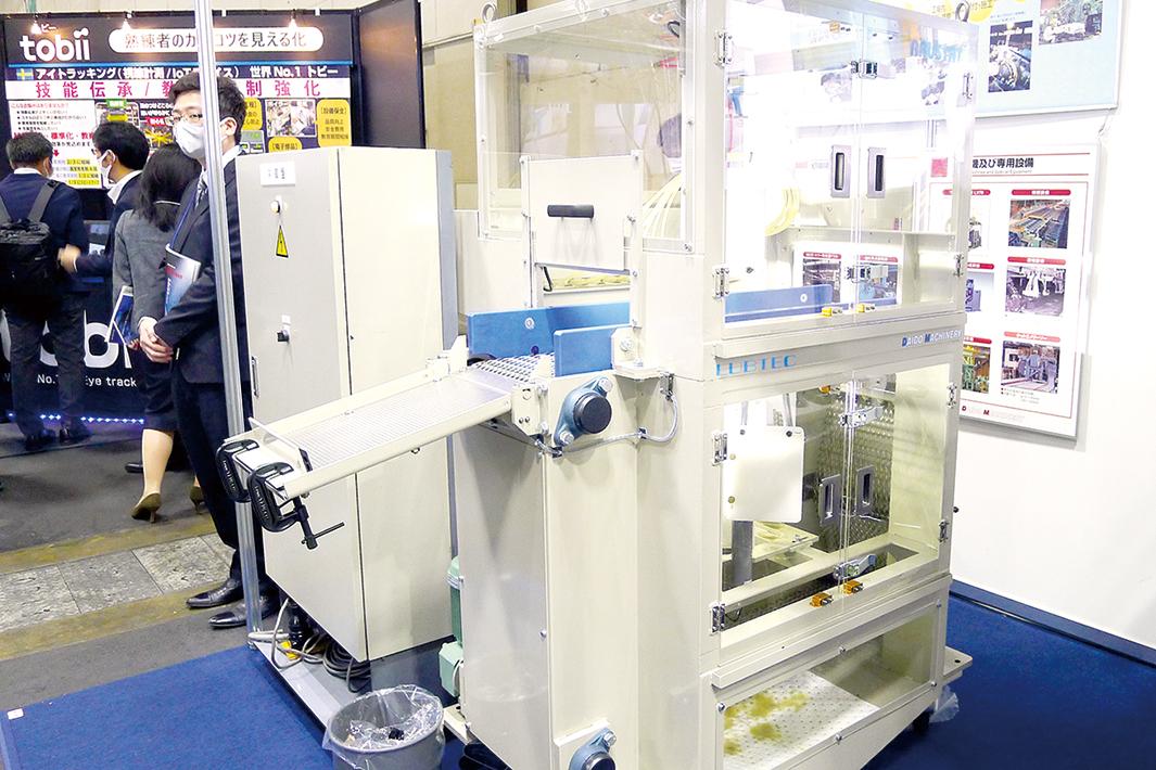 大同マシナリー、静電式の防錆油塗布装置 鍛造メーカー向け発売
