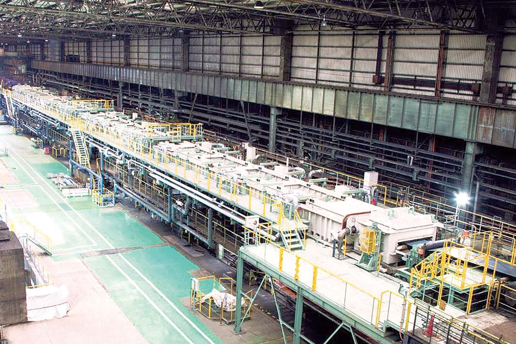 プライメタルズ、神戸製鋼・加古川で酸洗設備更新が完工