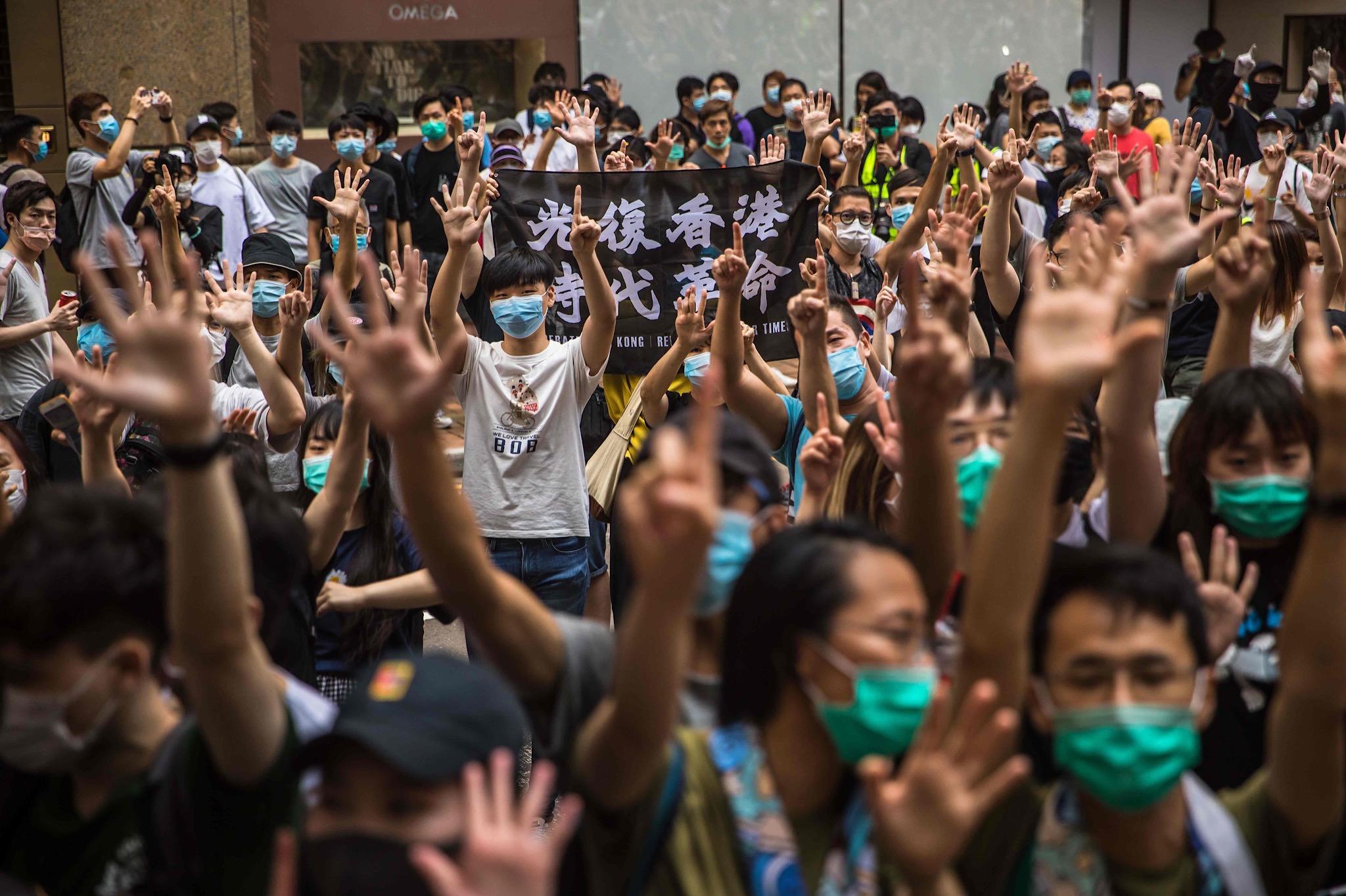 【海外3位】香港統制強める中国