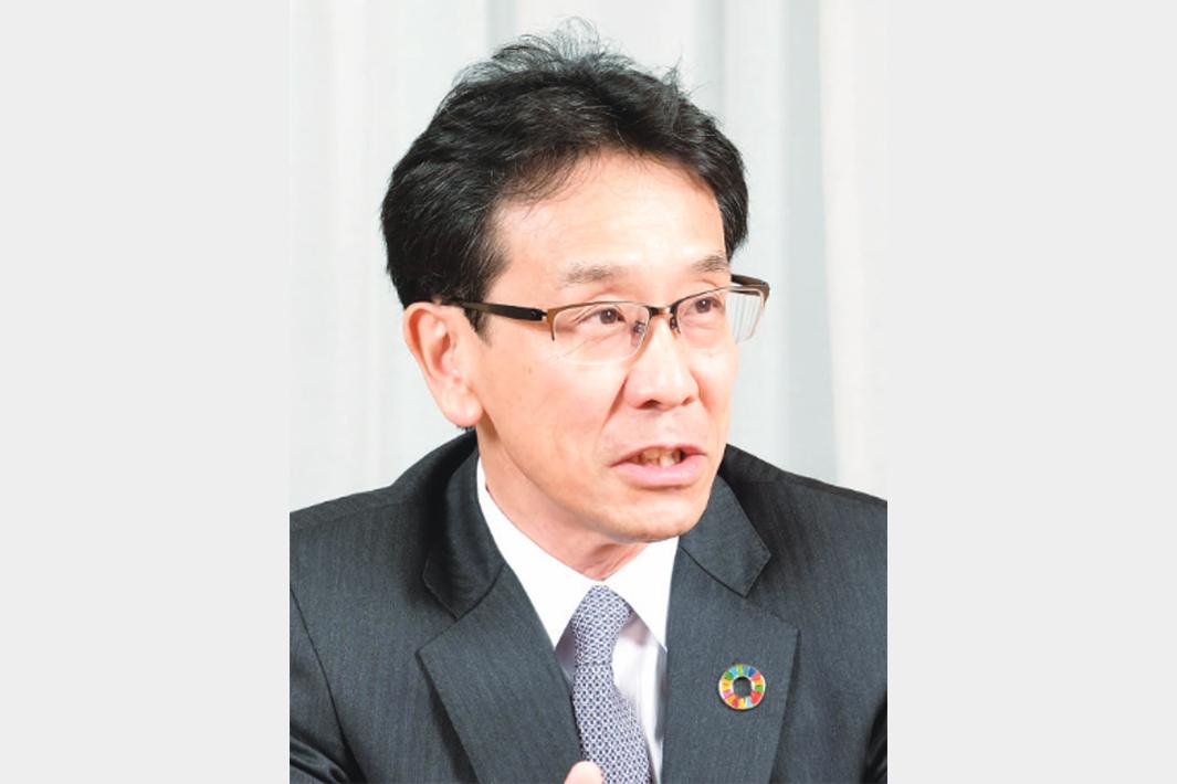 コマツの経営戦略を聞く 小川啓之社長 電動化、市場投入急ぐ 21年度、日米欧需要は回復へ