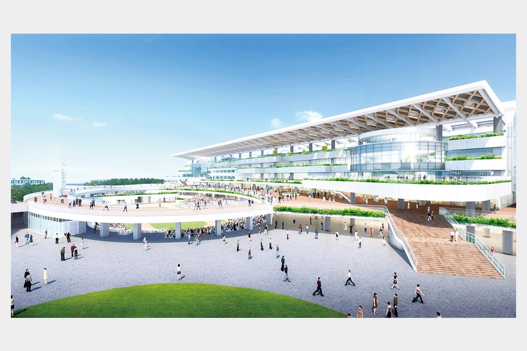 京都で鉄骨1万トン案件 競馬場整備スタンド改修、吉田鋼業など3社