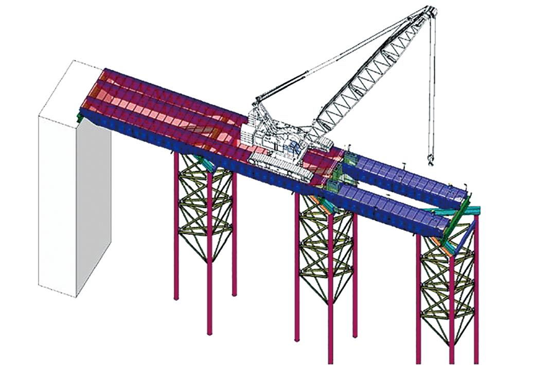 ヒロセと鹿島、新工法開発 仮設桟橋を急速施工