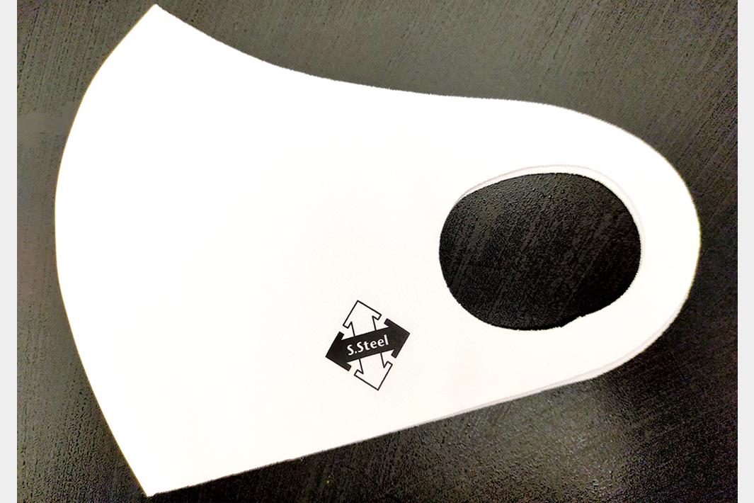 全特協が記念マスク作成 マスクには全特協ロゴが入る 4月1日「はがねの日」