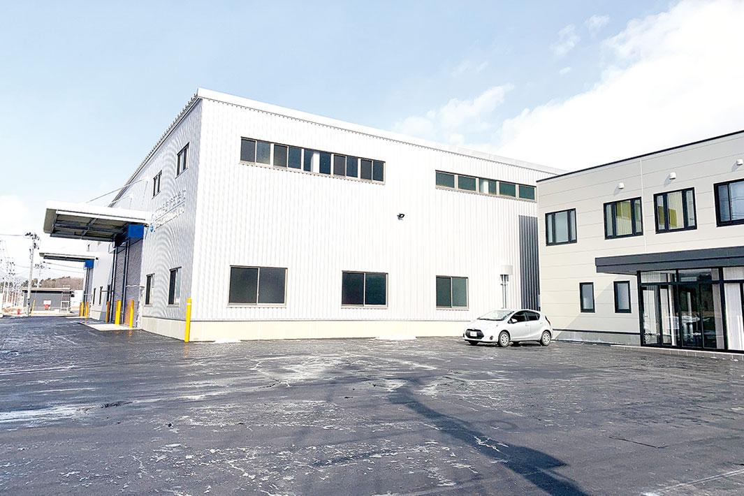 城北伸鉄、郡山磨棒鋼センター開設