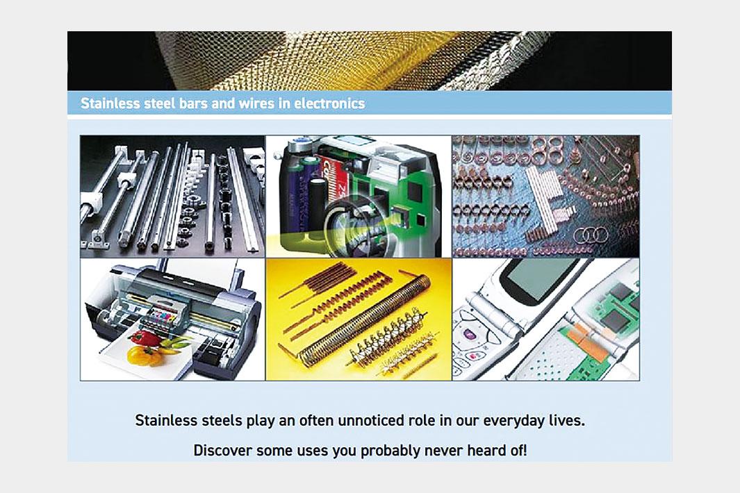 電化製品におけるステンレス条鋼と線材 ISSFがガイドブック発行