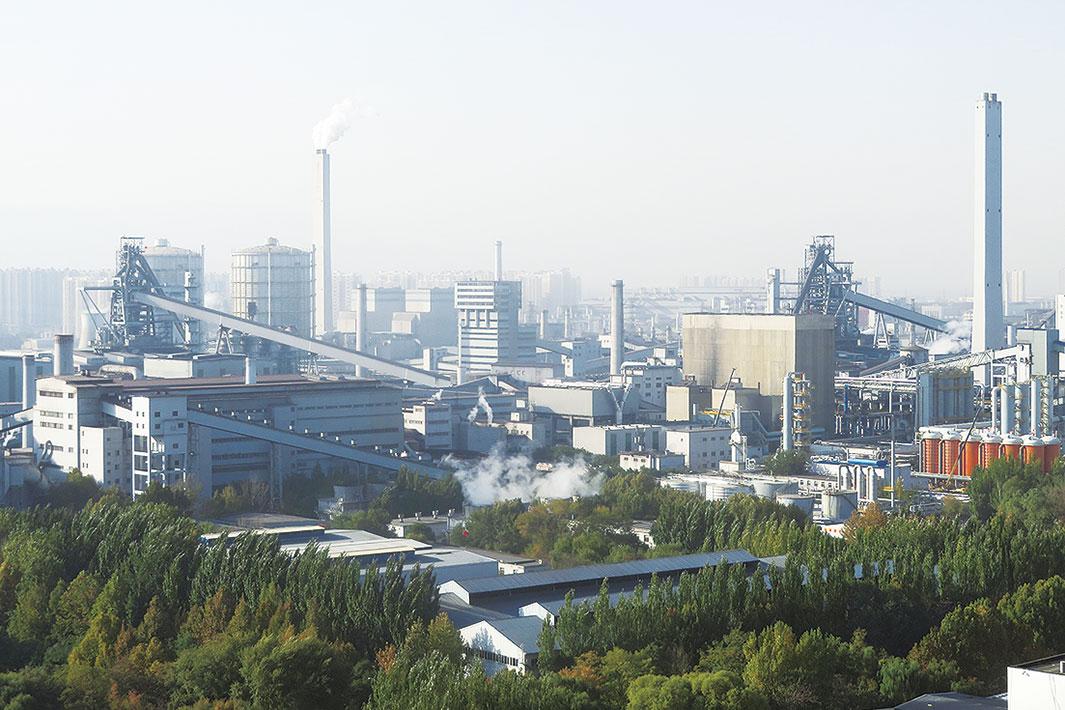 「中国鉄鋼業 14.5計画の狙い(上)」粗鋼シェア 上位10社で60%に 大型化進め国際競争力向上