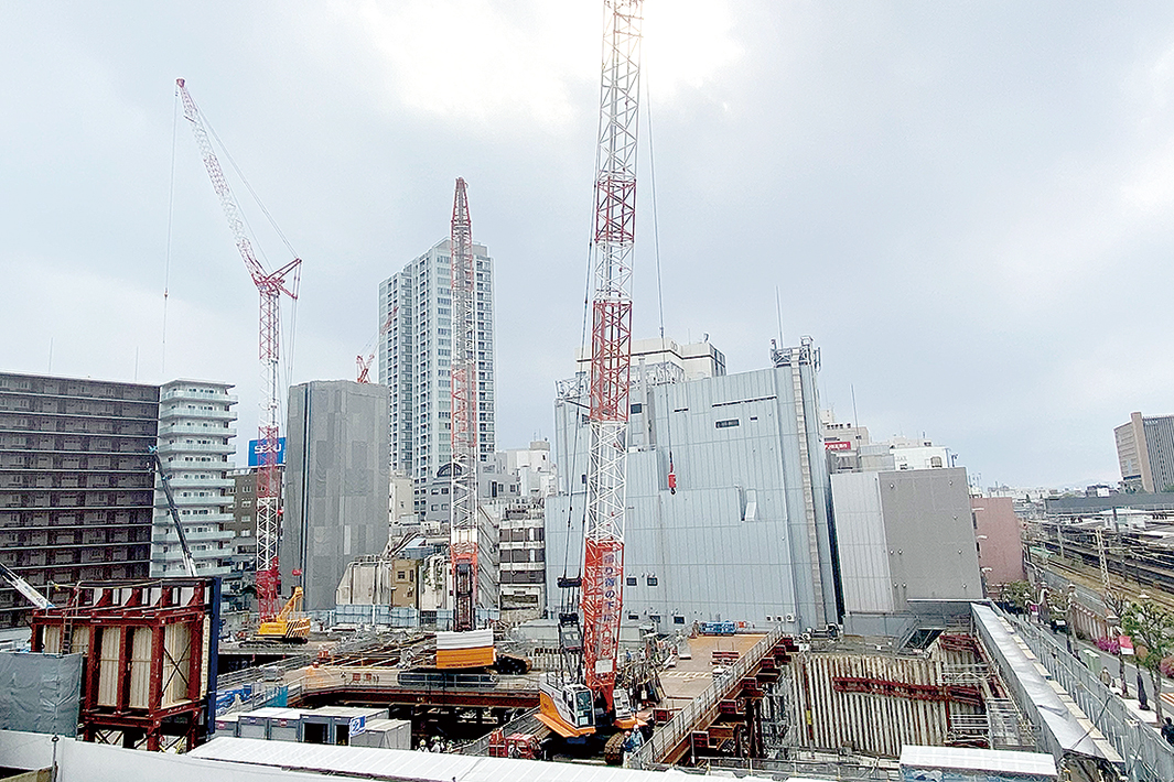 鉄骨・鉄筋エトセトラ ◆建材マーケット 関東 大型物件や物流倉庫に偏重