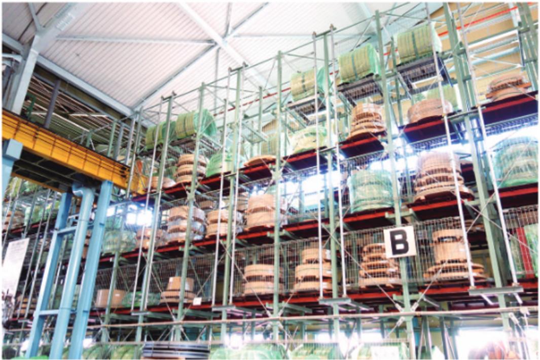 工場ルポ 仁淀鉄鋼・奈良工場 時代の流れに合わせ前進 自動化で作業効率向上 品質管理にデジタル活用