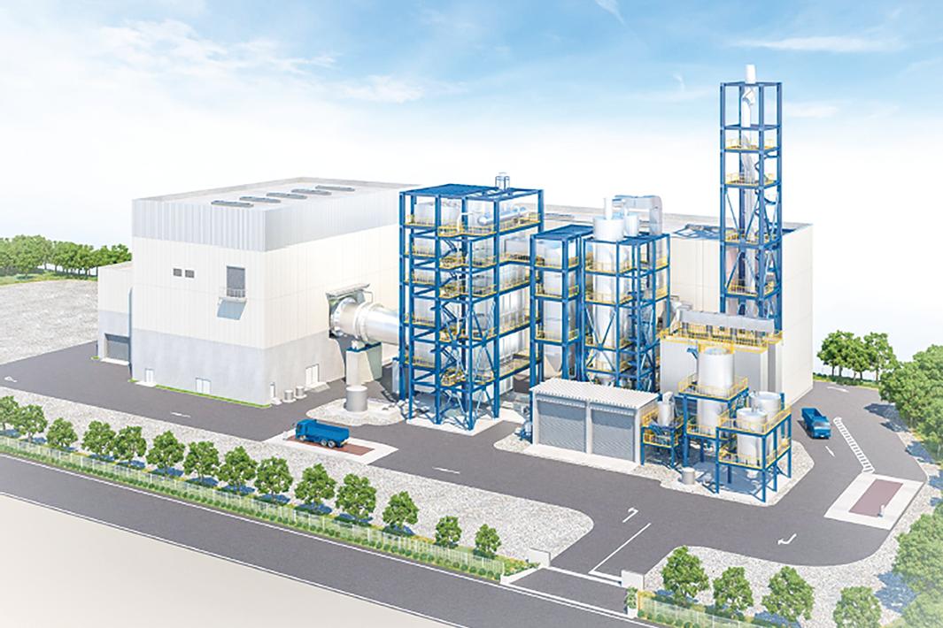 総合リサイクル企業/東金属の経営戦略/大型発電プラント建設へ/リサイクル資源をヤマダHD製品に還元フロー構築推進