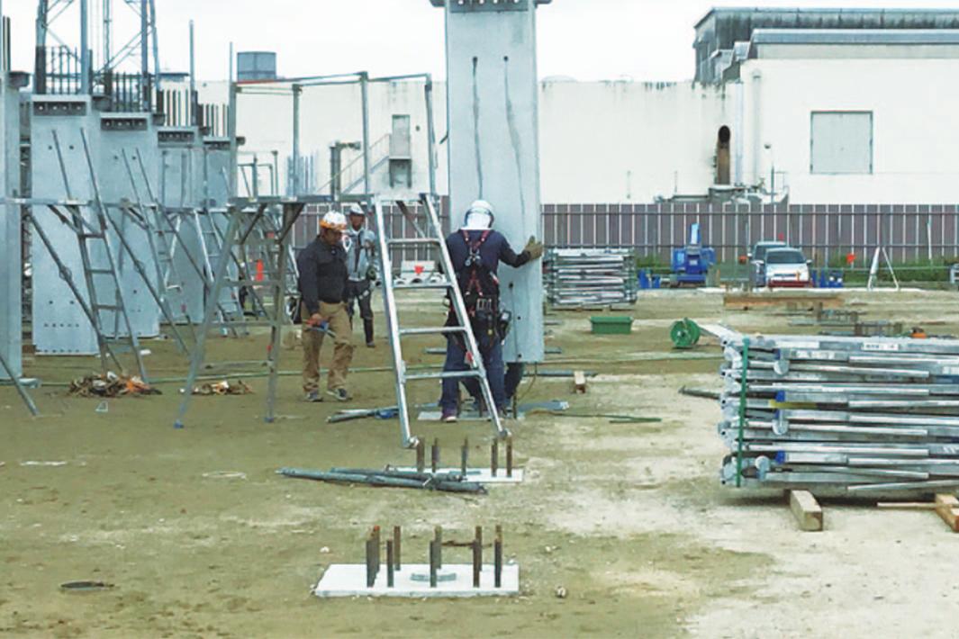 大津鉄工 PC柱用基礎など 新分野を強化 S造での技術力生かす