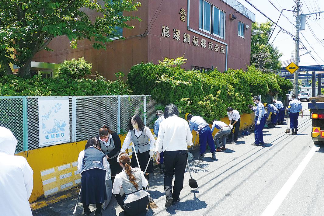 浦安鉄鋼団地協組 「クリーン大作戦」実施