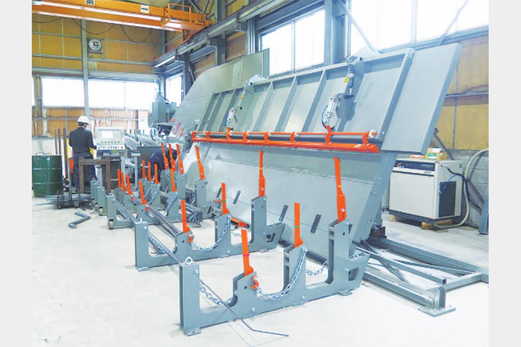 森田鋼材、鉄筋自動加工機を新設 能力2倍に