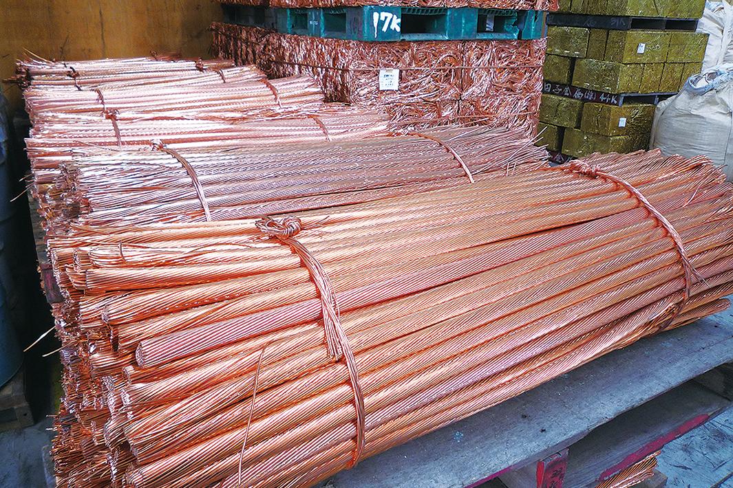 銅スクラップ 発生難続き集荷量優先