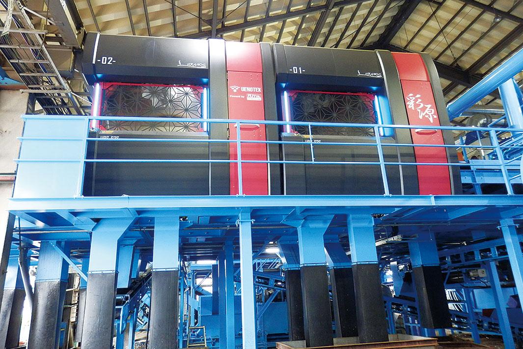 飲料容器自動選別ライン 彩源、月2000トン体制始動