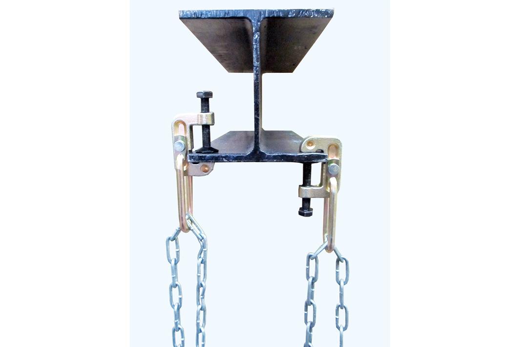 津軽工業 吊りチェーン、新型クランプ発売