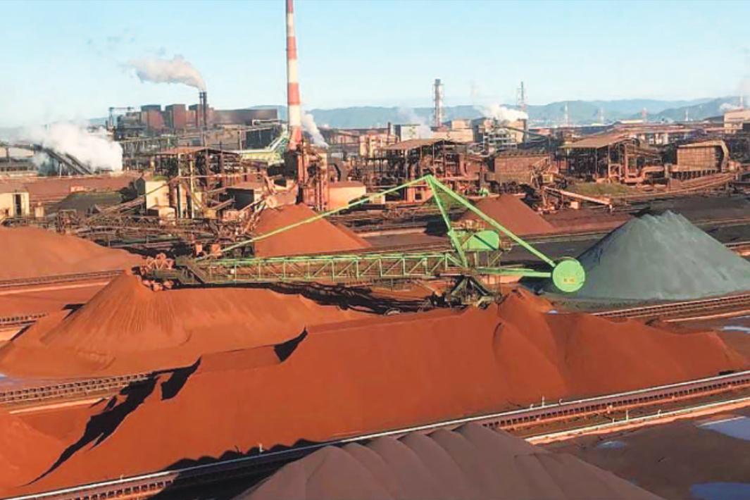 JFEスチール、鉄鉱石ヤード運用最適化 福山に新システム導入