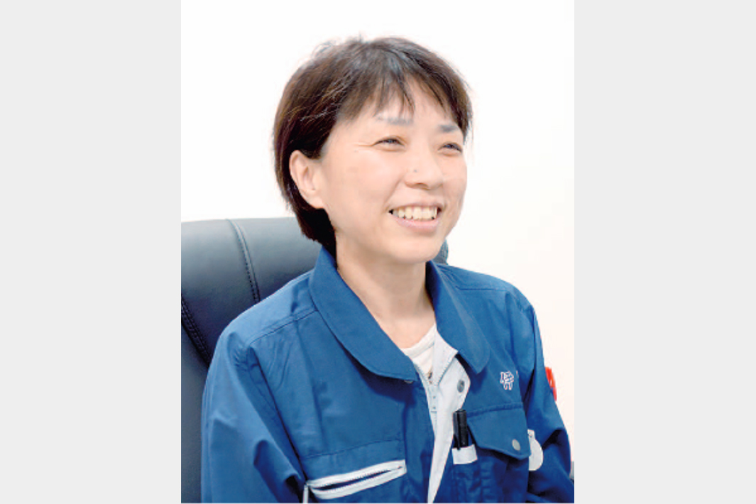鉄鋼業界で働く/ ―女性工場職編― インタビュー/挑戦への意欲 一層強く