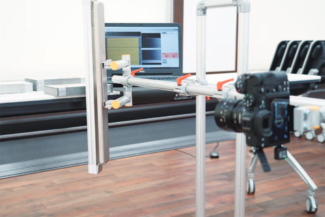 ヒューテック・オリジン、AI活用鋼板枚数計を開発