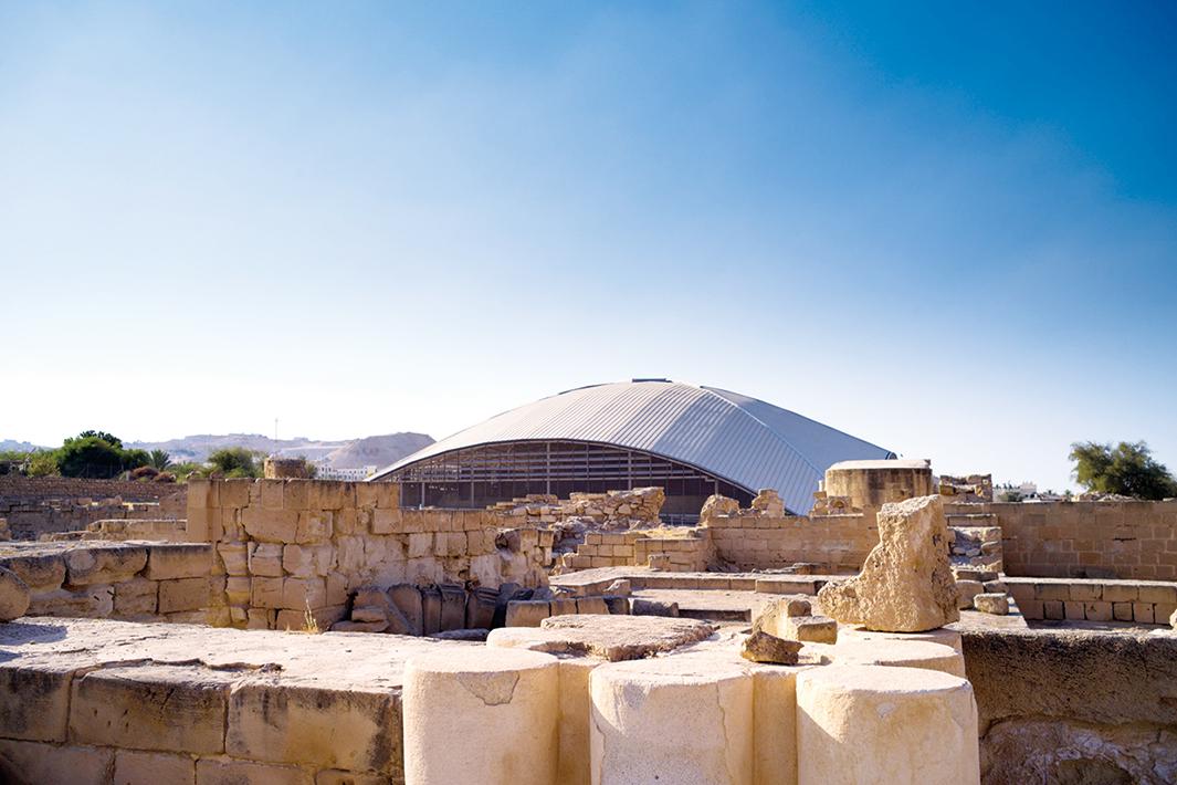 日鉄建材 「スーパーフロールボンド」、海外で初採用 パレスチナ宮殿遺跡