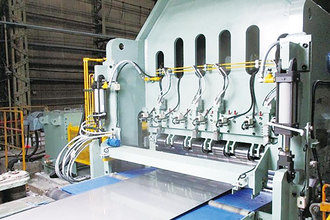 日本冶金 川崎・厚板工場 ホットカットライン改造