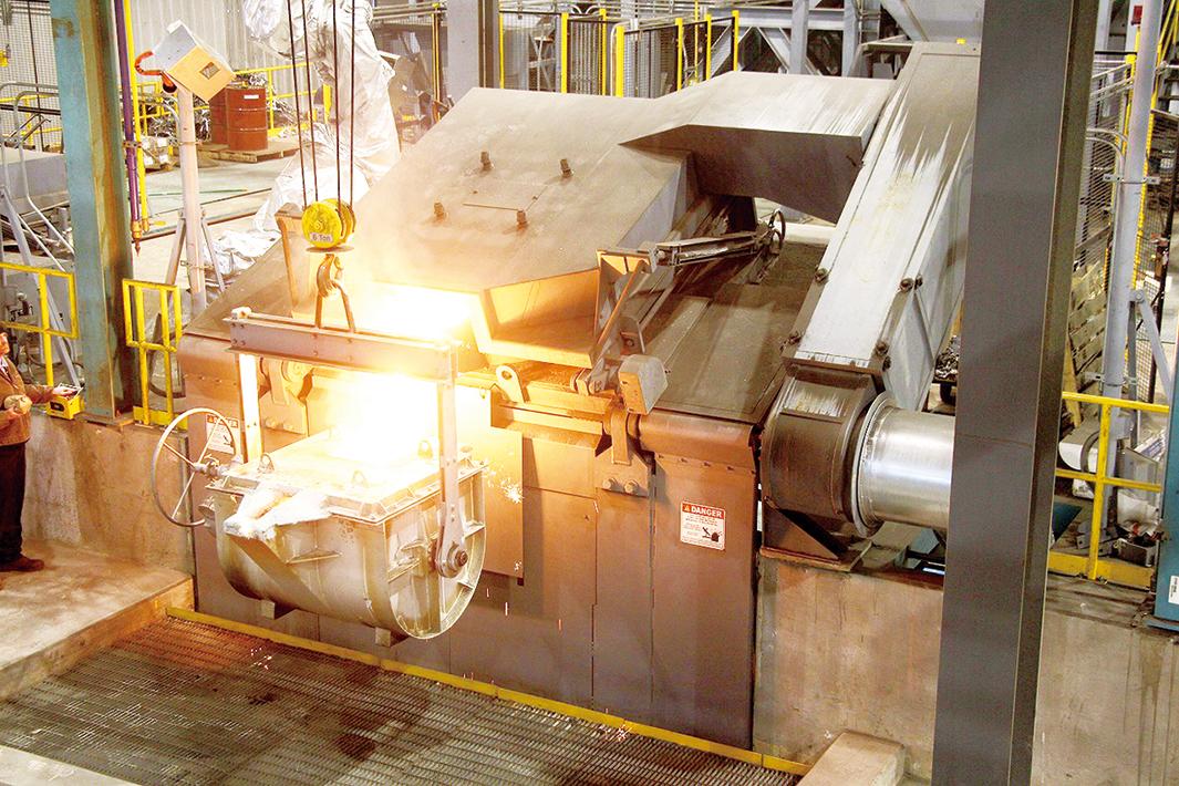 スチールプランテック 電磁誘導炉溶解装置 世界最大手と業務提携