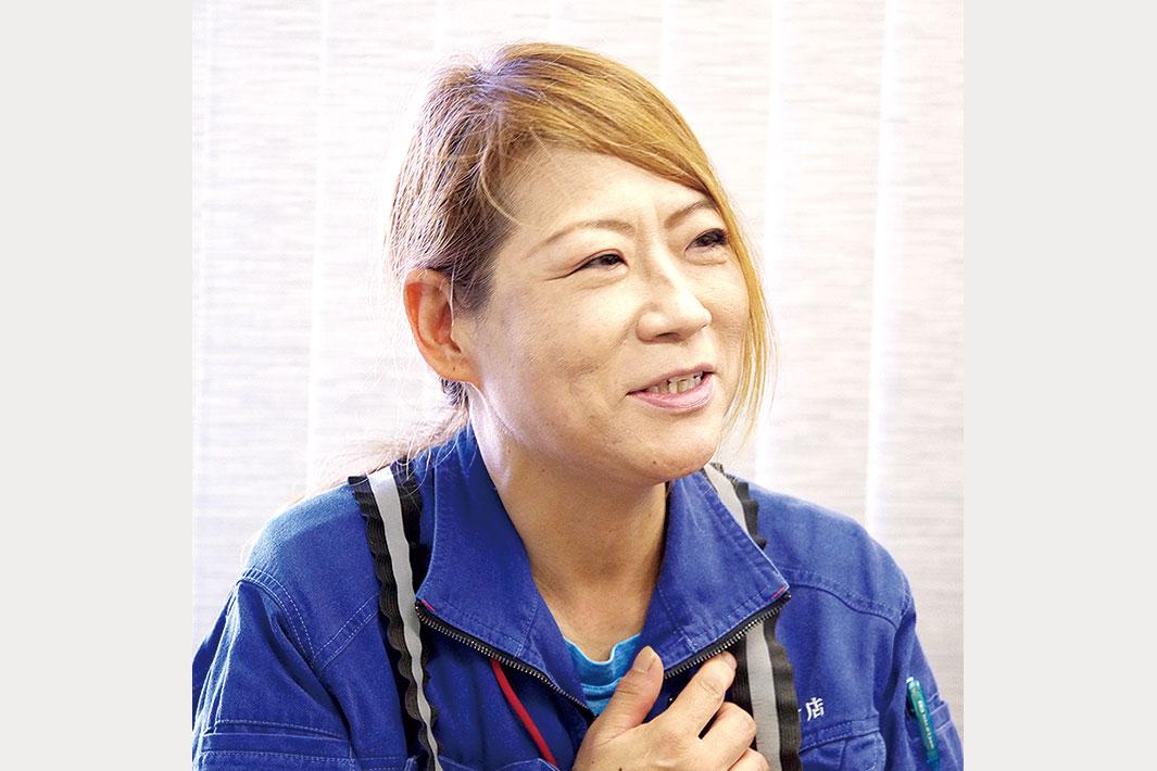 鉄鋼業界で働く/女性工場職編/インタビュー(上)/真摯な姿に周囲も変化/環境ビジネスに関わる