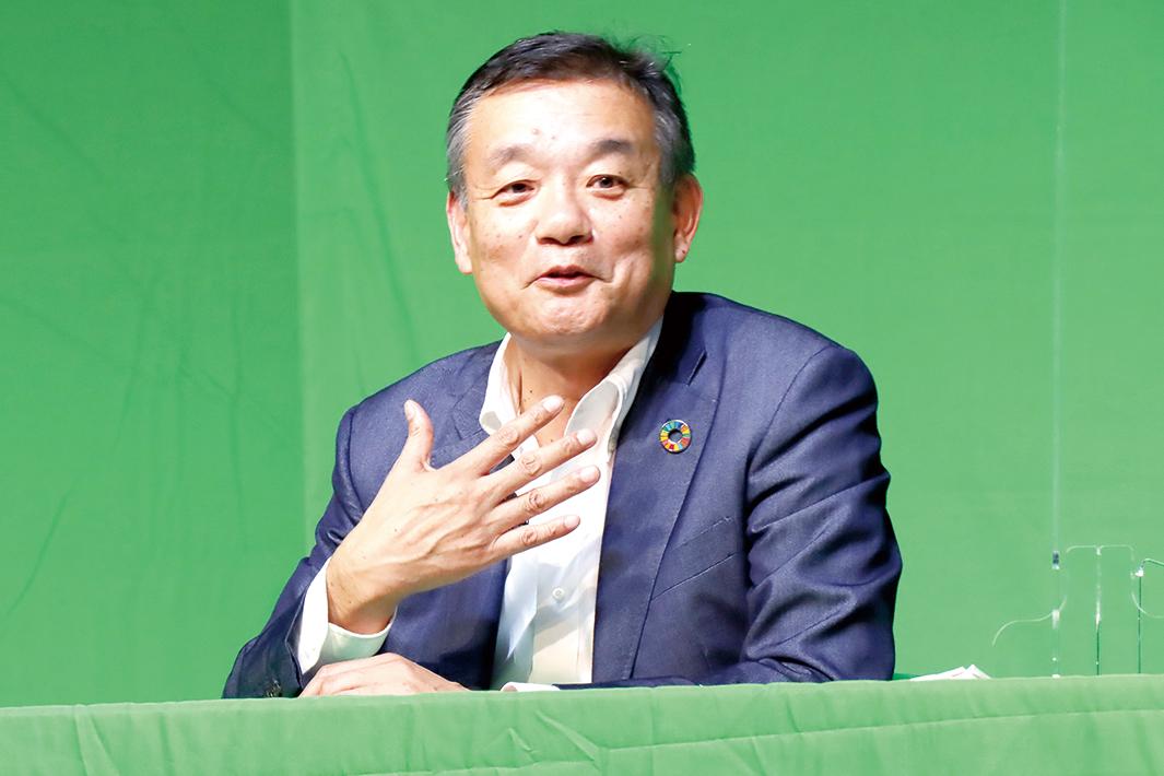 東京製鉄・西本社長 証券アナリスト大会 パネル討論に登壇 脱炭素化へ「電炉の時代」 鉄スクラップ高度利用を